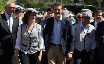 El PP sitúa a Madrid como prueba de fuego para la fortaleza de Casado