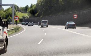 El límite en la GI-20 baja a 100 km/h sin previo aviso entre Donostia y Errenteria