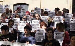 Los trabajadores de Ubik en huelga acusan de inacción a los políticos