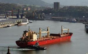 El Puerto de Pasaia registró hasta abril un incremento de tráficos del 6,58%