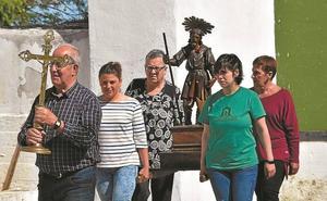 San Isidroren prozesioak hasi ditu Madariagako festak