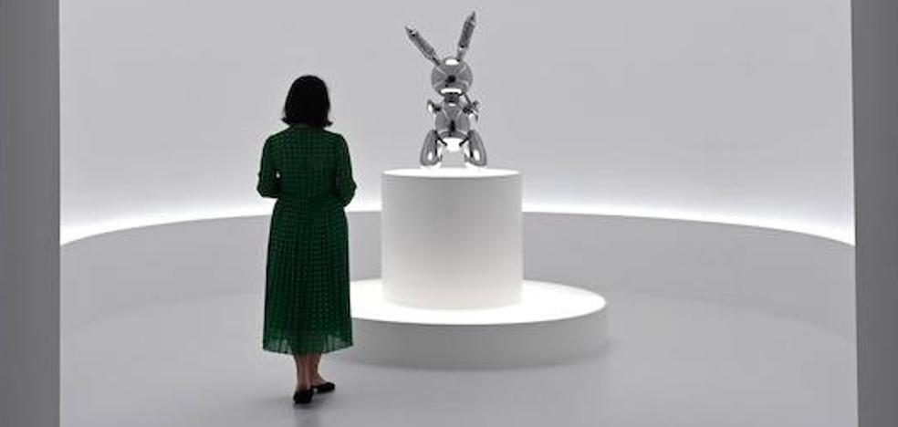 El conejo de la suerte de Koons