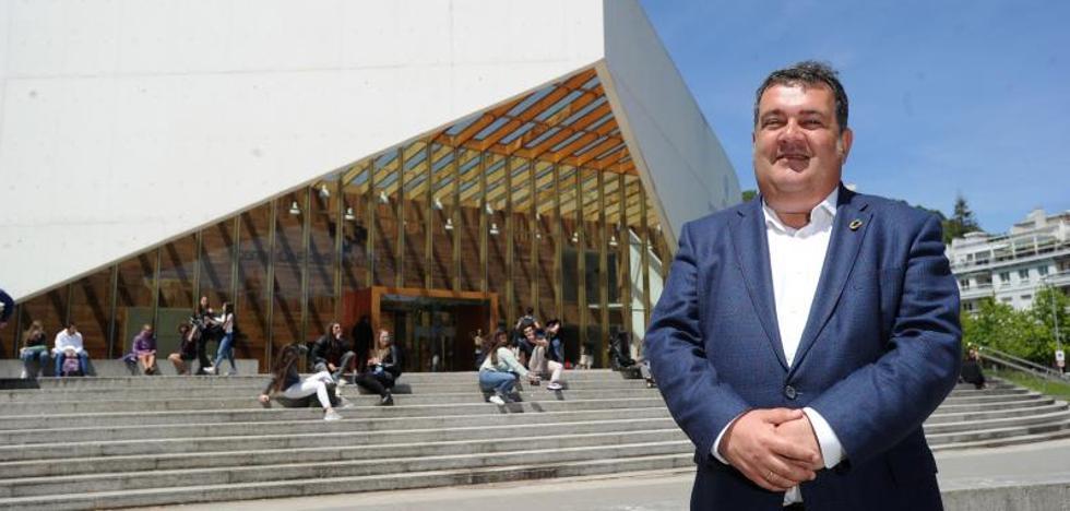 Ernesto Gasco, candidato del PSE-EE: «Hemos liderado la gestión y solo hay dos opciones: Goia o Gasco»
