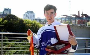 «De las matemáticas me entusiasman las fórmulas largas; del hockey, su rapidez»