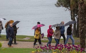 Activan un aviso amarillo por fuertes lluvias desde esta noche hasta mañana