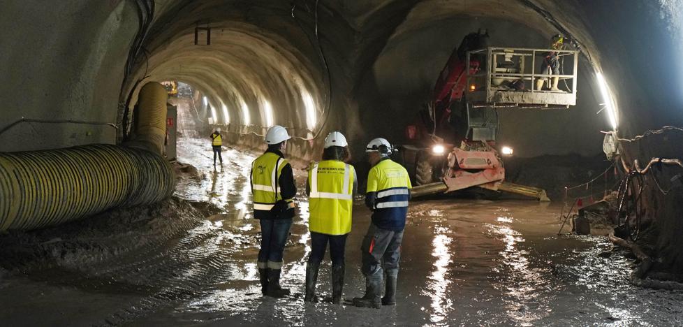 El Topo ya ve la luz en el túnel de Benta Berri