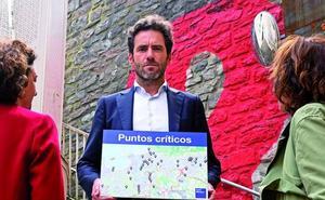 Sémper dotará a las zonas más conflictivas de Donostia de patrullas permanentes