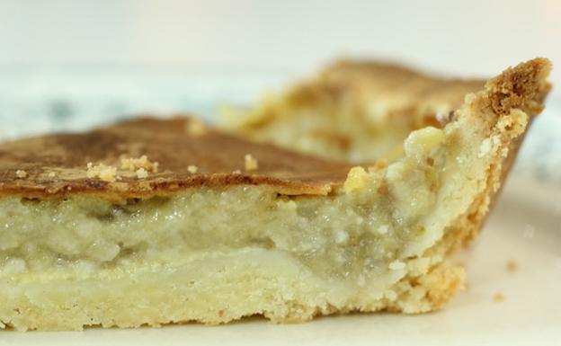 La tarta de pera del Okeluri