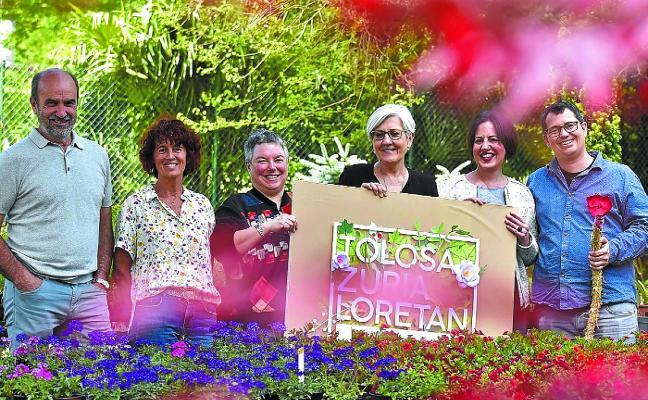 'Tolosa Zuria Loretan', días de flores, música y museos
