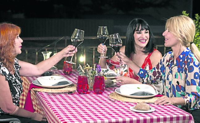 Irene Villa y su madre, en 'Cena con mamá'