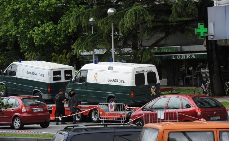'Patria' se sigue grabando en Donostia