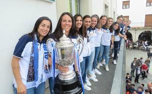 Las reinas txuri urdin de la Copa