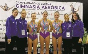 Un oro y un bronce para Arrasate Dragoi en el Campeonato de España