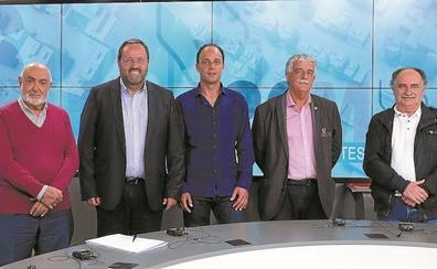 Cinco candidatos repasaron la actualidad en Teledonosti