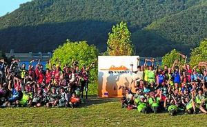 Beteteros y triatleros, juntos en Eremua