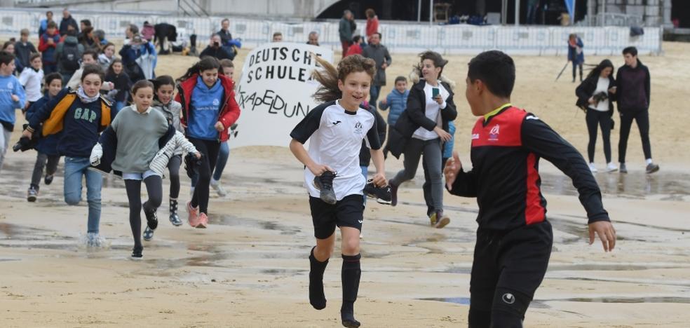 Amara Berri y Deutsche Schule triunfan en La Concha