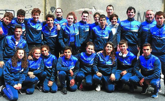 Triple oro para Pasaia Kayak en el último Campeonato de Euskadi
