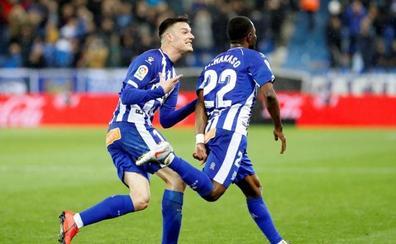 El Girona confirma el descenso en Vitoria
