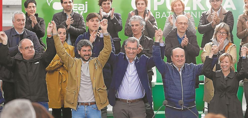 Ortuzar alerta ante las encuestas: «Gipuzkoa puede volver al pasado»