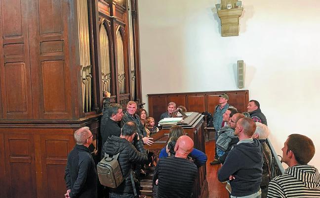 Visita guiada de «notable interés» en torno al órgano Merklin