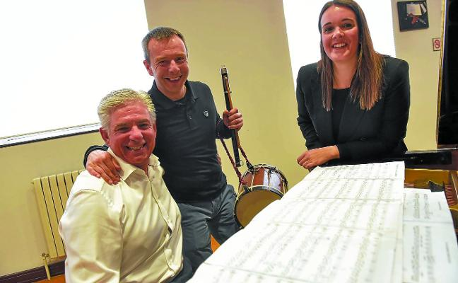 Txistu, piano y voz, recorrido a través de la evolución de la música vasca