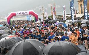 La Carrera de Empresas, un éxito pese a la lluvia