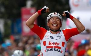 El Giro se somete a su primer examen