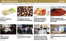 Más cocina, más información, Más Gastronomía