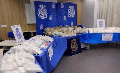 Golpe al narco: 12 detenidos e incautado el mayor alijo de cristal en España