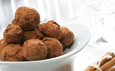Receta de trufas de chocolate de Martín Berasategui