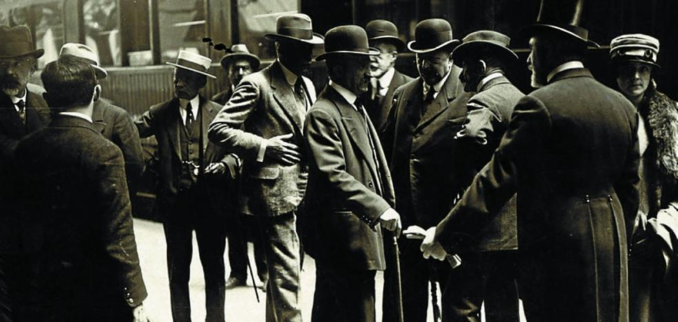 1919 | Se apeó del tren para fallecer en San Sebastián