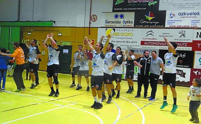 El Amenabar Zarautz seguirá en la división de plata por octava temporada consecutiva
