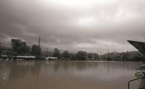 Landare y Zubipe vuelven a clamar medidas ante una nueva crecida del río