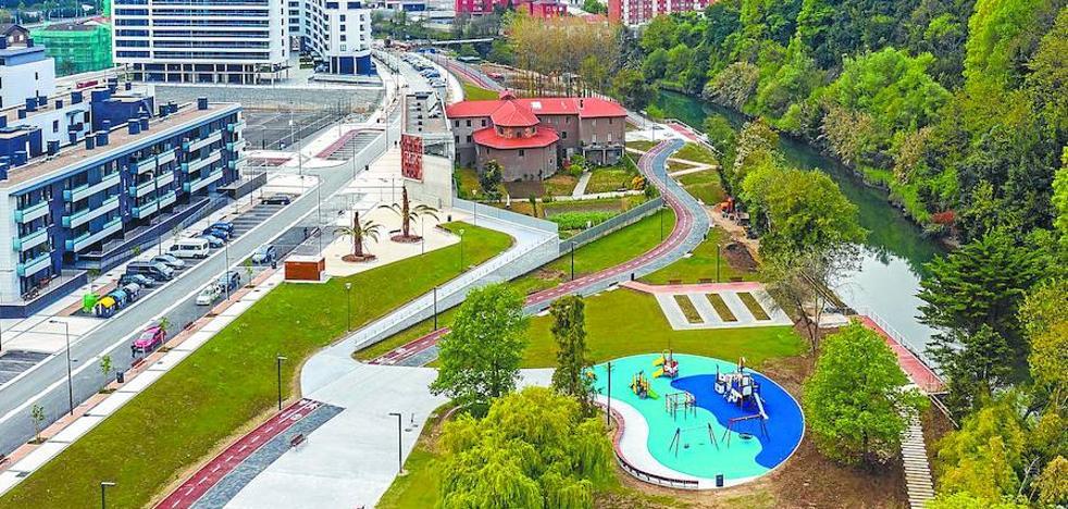 Las nuevas construcciones de Donostia se hacen sitio