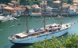 La temporada de cruceros arranca en Pasaia el día 29 con la llegada de un barco de 117 metros de eslora