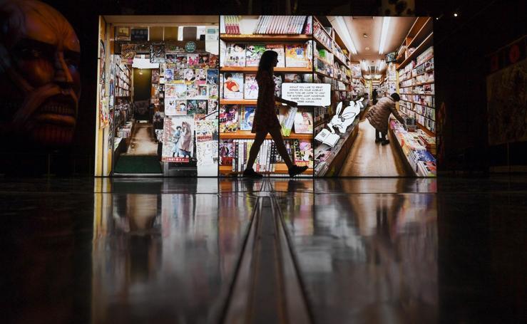 El manga entra en el museo