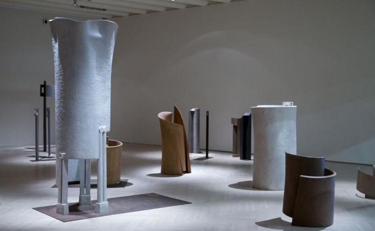 La sala Kubo acoge las esculturas de José Ramón Anda