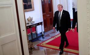 El portazo de Trump