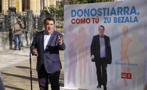 Gasco reclama «un alcalde que lidere y no se limite a administrar la ciudad»