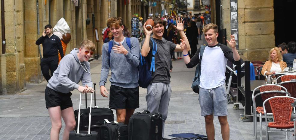 Balance de la legislatura: El turismo ya supone un 14% del PIB en Donostia