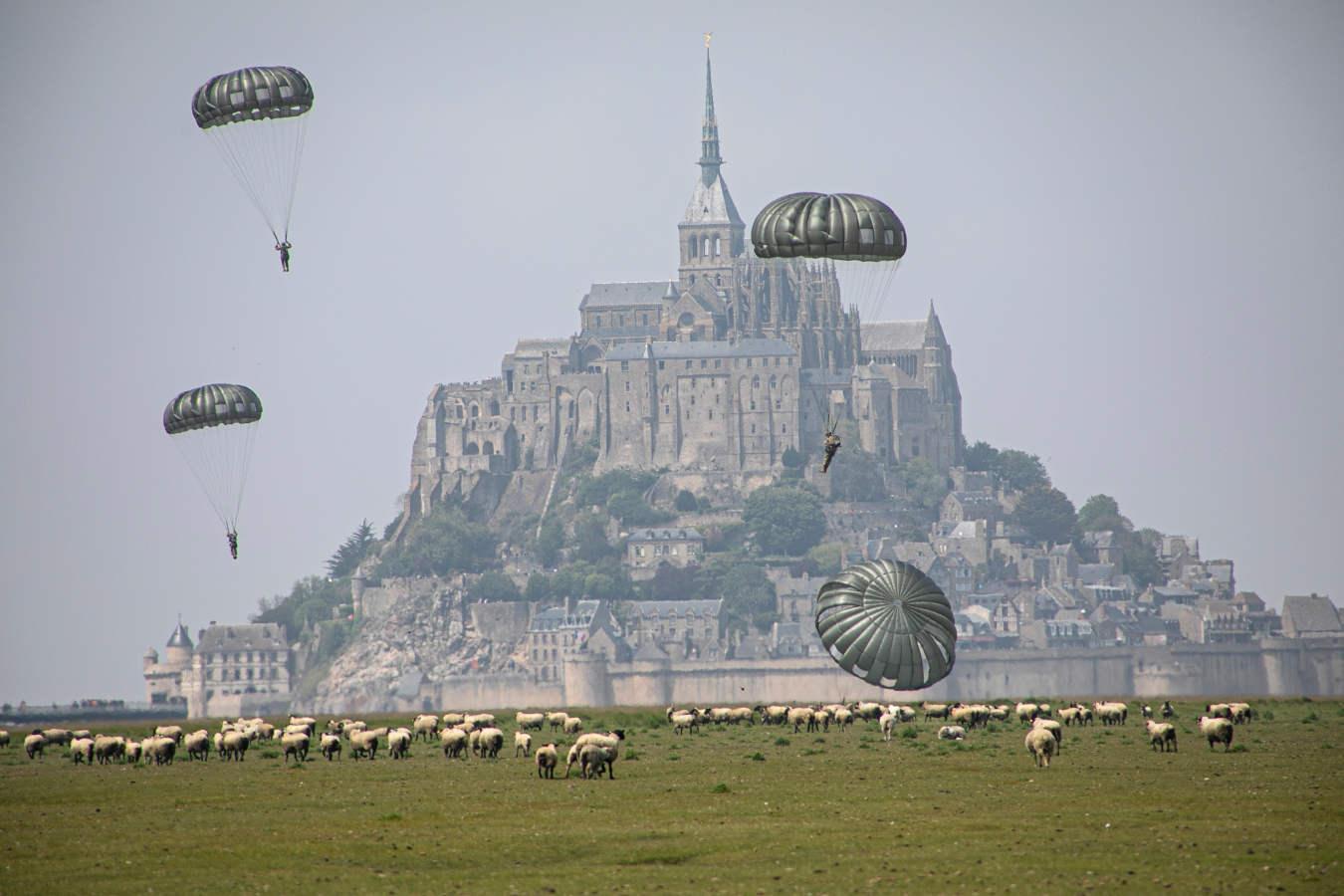 Sobrevolando Saint-Michel
