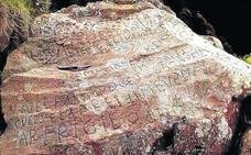 El enigma de la piedra: 2.000 euros por descifrar un mensaje