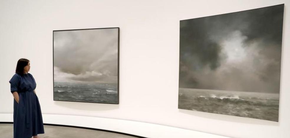 Las pinturas desenfocadas de Richter