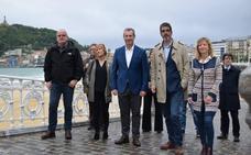 Olano llama a la «movilización general» para que «Donostia, Gipuzkoa y Euskadi sigan avanzando y progresando»