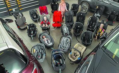 Cuatro de 35 sillas infantiles analizadas suspenden