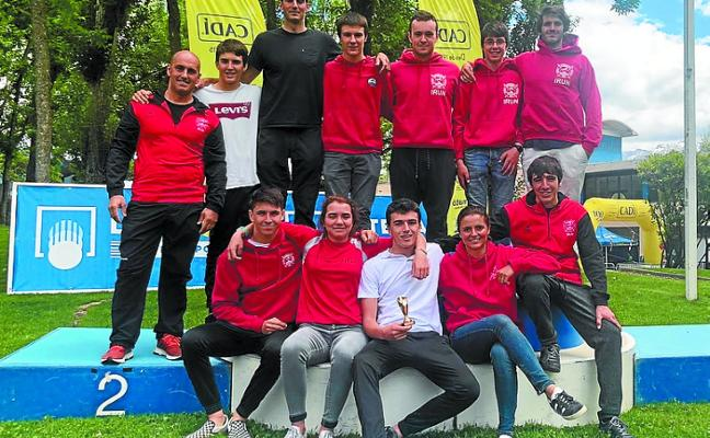 Santiagotarrak fue tercero por equipos en la Copa de España en La Seu d'Urgell