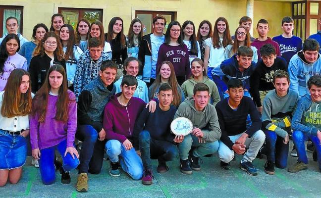 Premian la campaña solidaria de los alumnos de Antoniano Ikastetxea