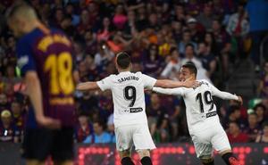 Rodrigo hace el segundo del Valencia