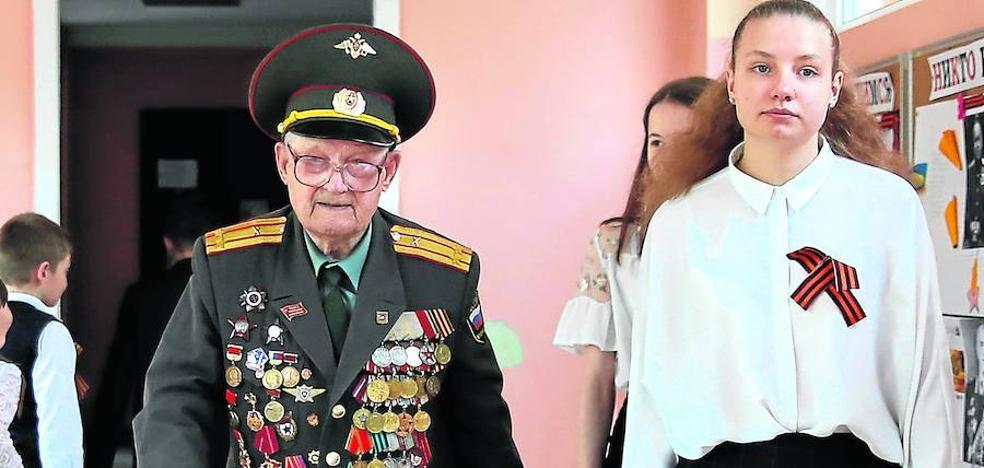 Las medallas del viejo soldado