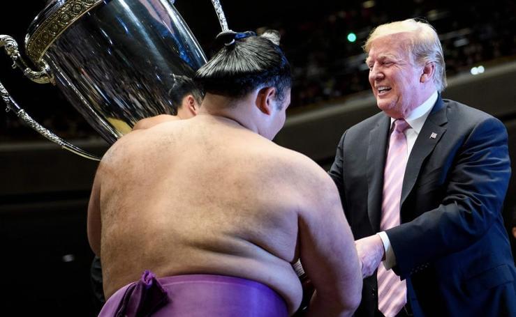Trump se apunta al sumo
